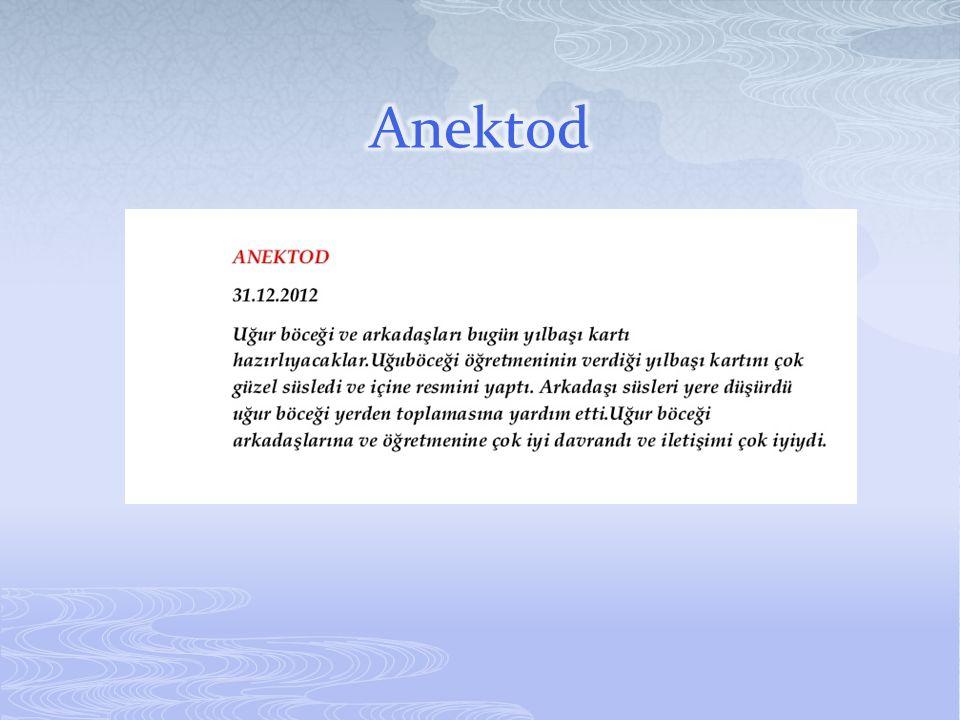 Anektod
