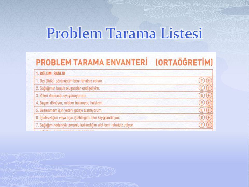 Problem Tarama Listesi
