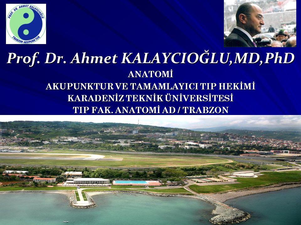 Prof. Dr. Ahmet KALAYCIOĞLU,MD,PhD