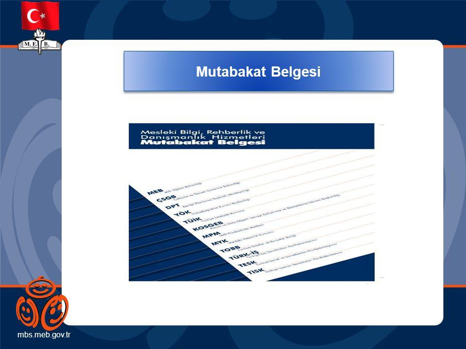 mbs.meb.gov.tr Mutabakat Belgesi. Mesleki rehberlik ve danışmanlık hizmetlerinin geliştirilmesi, yaygınlaştırılması ve.