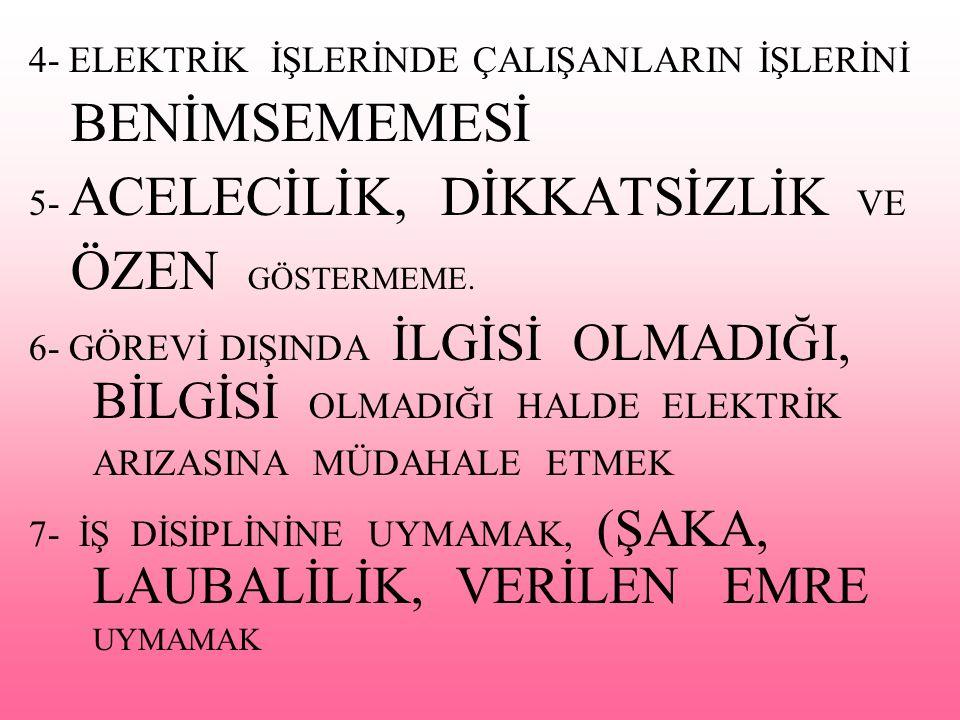 BENİMSEMEMESİ ÖZEN GÖSTERMEME.