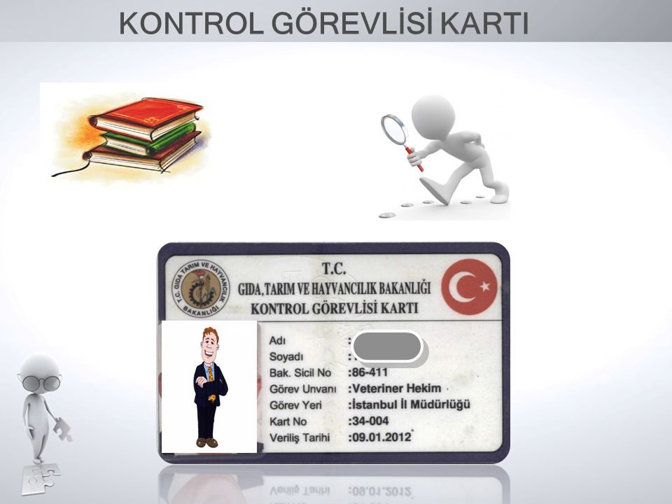 KONTROL GÖREVLİSİ KARTI