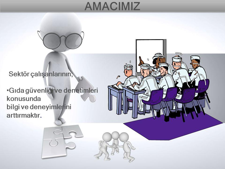 AMACIMIZ Sektör çalışanlarının;