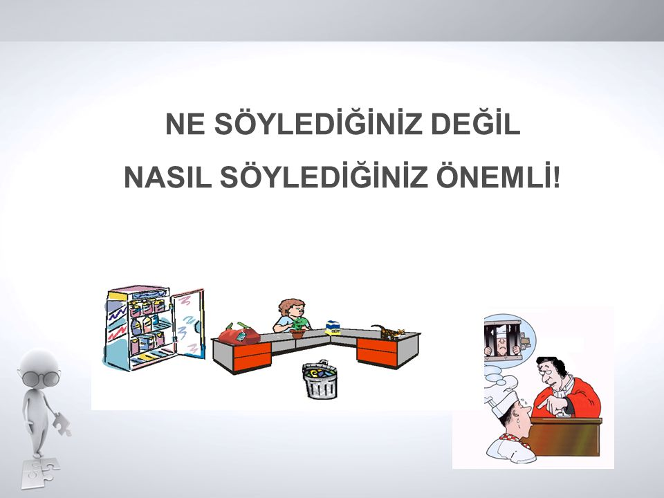 NASIL SÖYLEDİĞİNİZ ÖNEMLİ!