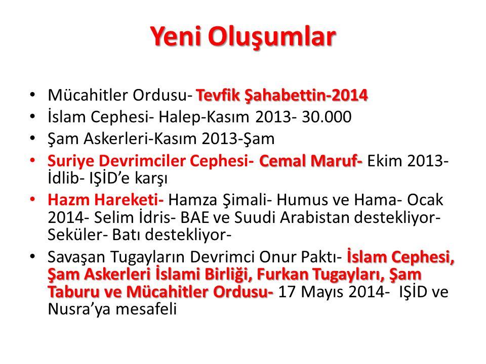 Yeni Oluşumlar Mücahitler Ordusu- Tevfik Şahabettin-2014