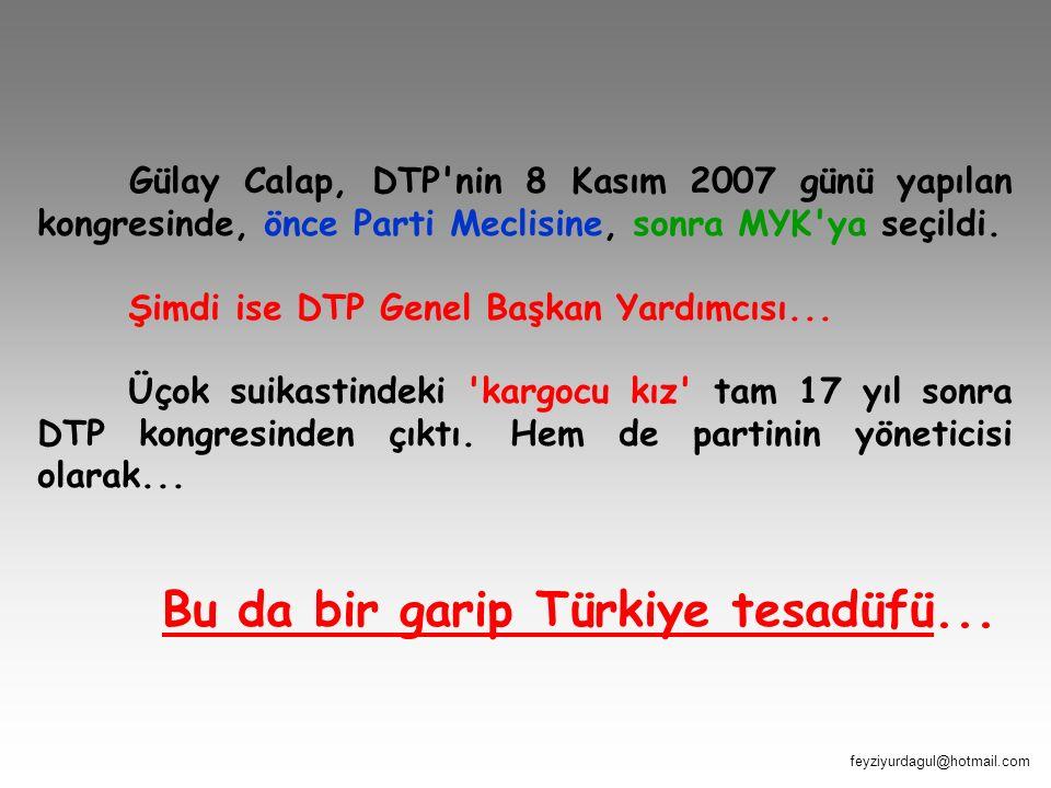 Bu da bir garip Türkiye tesadüfü...