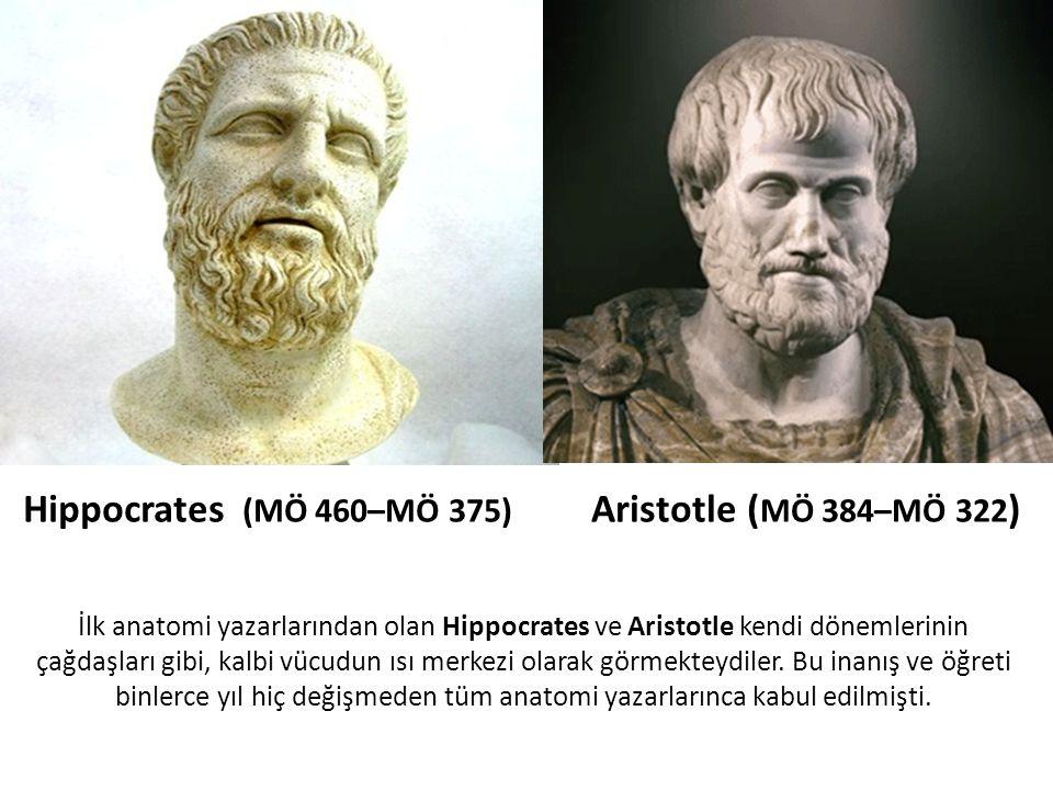 Hippocrates (MÖ 460–MÖ 375) Aristotle (MÖ 384–MÖ 322)