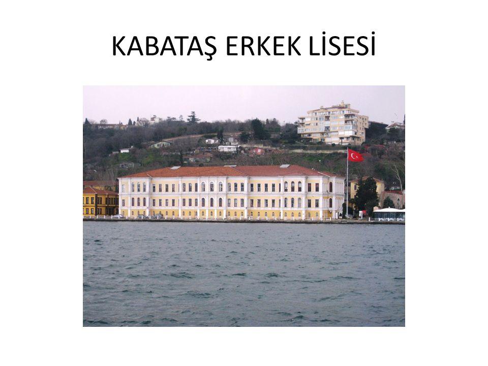 KABATAŞ ERKEK LİSESİ