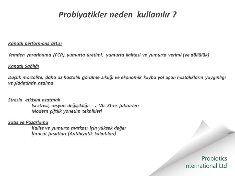 Probiyotikler neden kullanılır