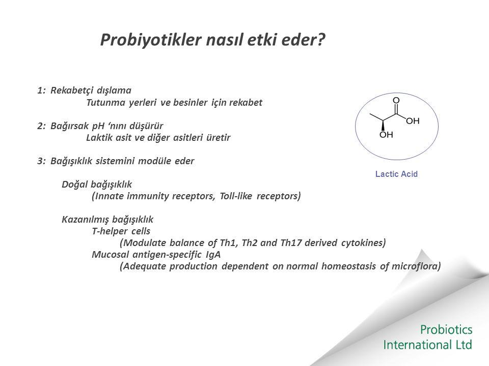 Probiyotikler nasıl etki eder