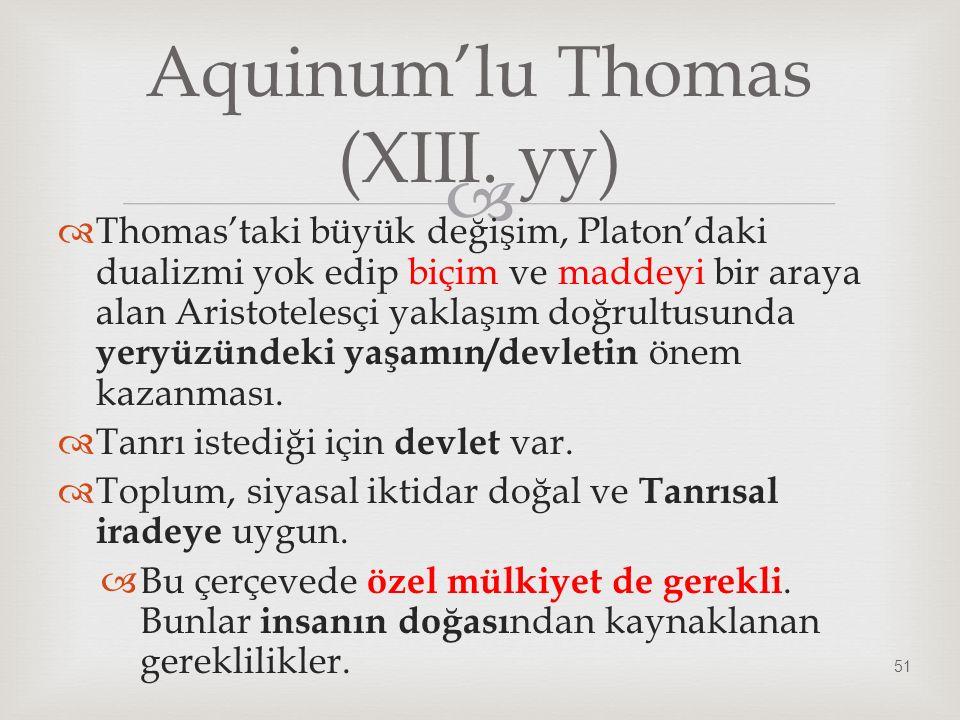 Aquinum'lu Thomas (XIII. yy)