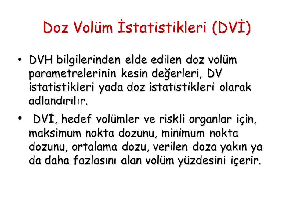 Doz Volüm İstatistikleri (DVİ)