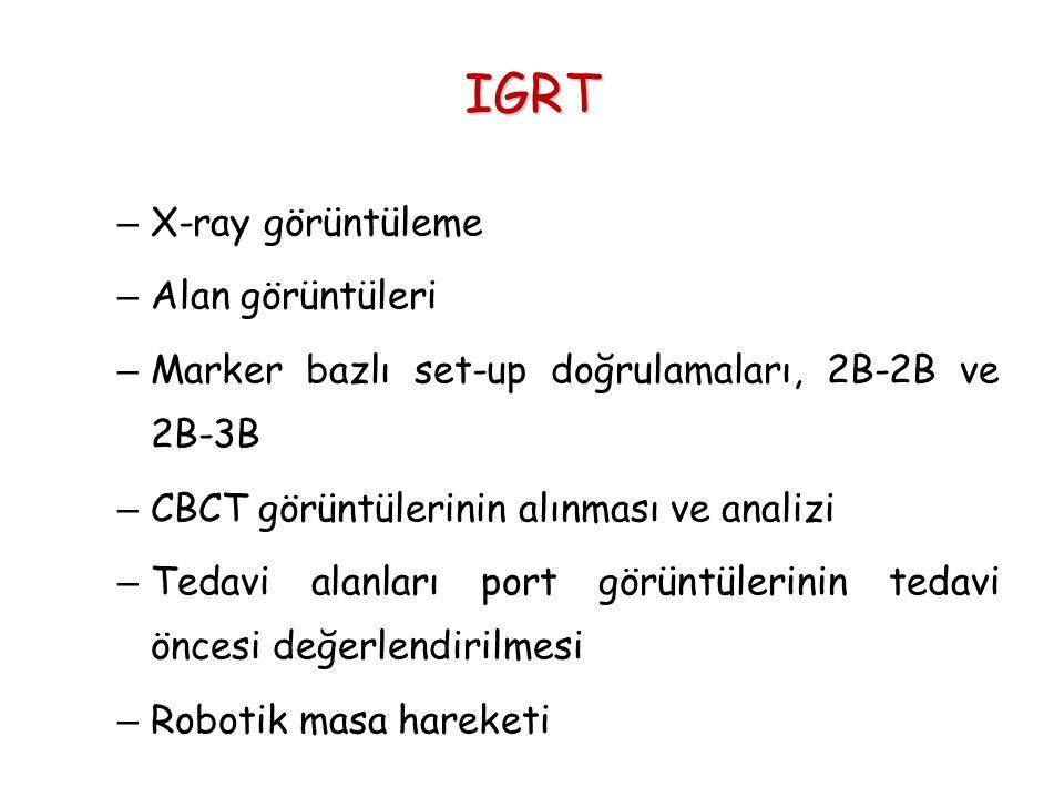 IGRT X-ray görüntüleme Alan görüntüleri