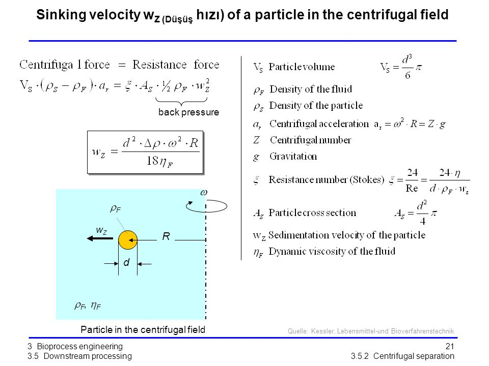 Particle in the centrifugal field
