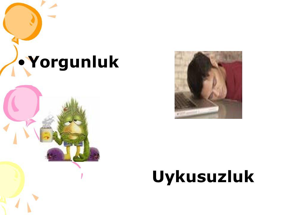 Yorgunluk Uykusuzluk