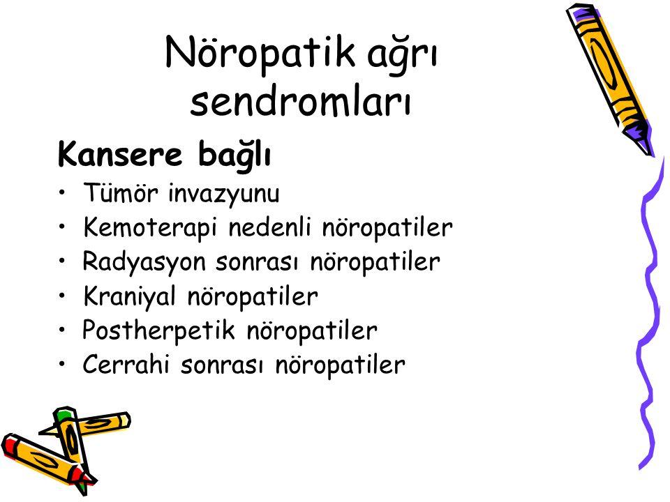 Nöropatik ağrı sendromları