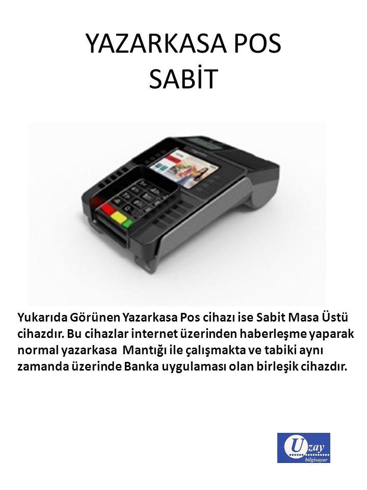 YAZARKASA POS SABİT