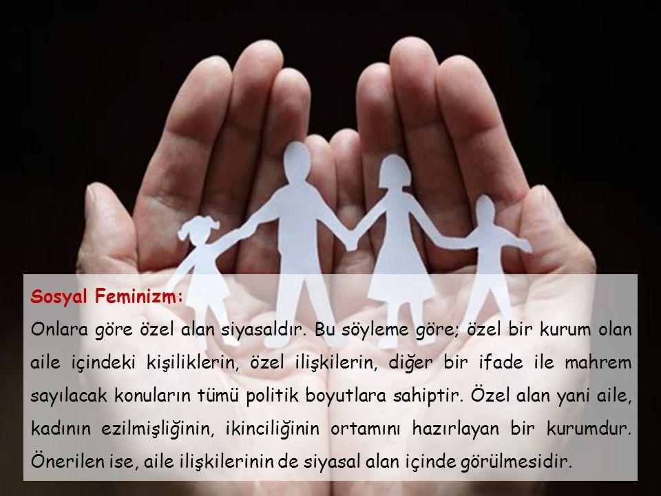 Sosyal Feminizm: