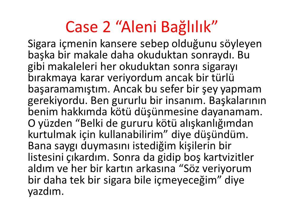 Case 2 Aleni Bağlılık