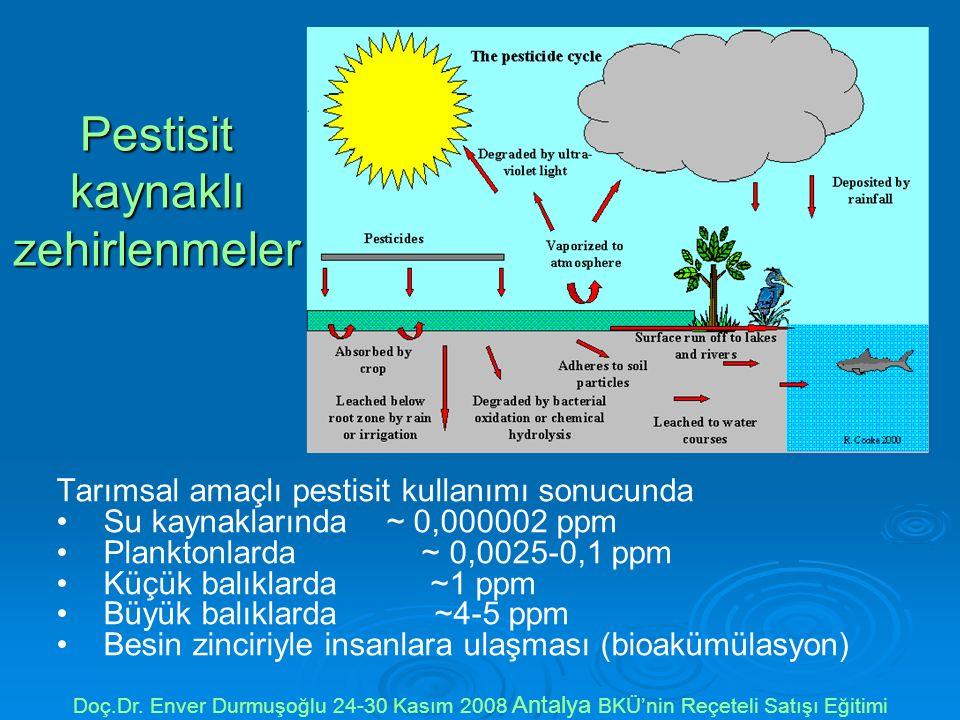 Pestisit kaynaklı zehirlenmeler