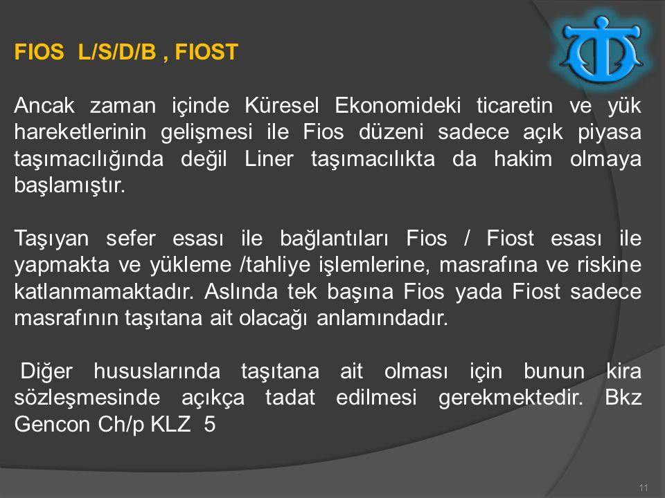FIOS L/S/D/B , FIOST