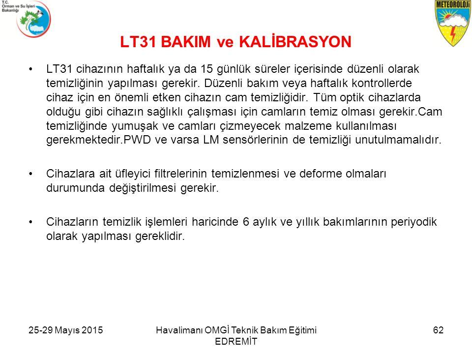 LT31 BAKIM ve KALİBRASYON