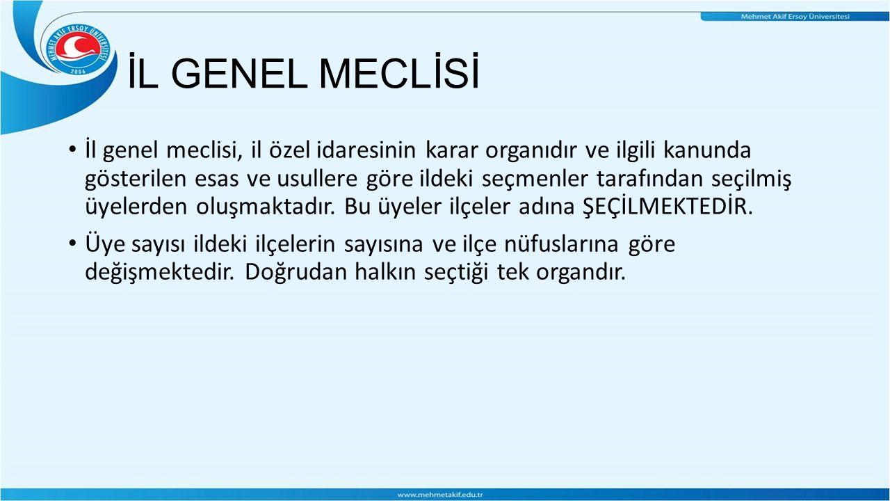 İL GENEL MECLİSİ