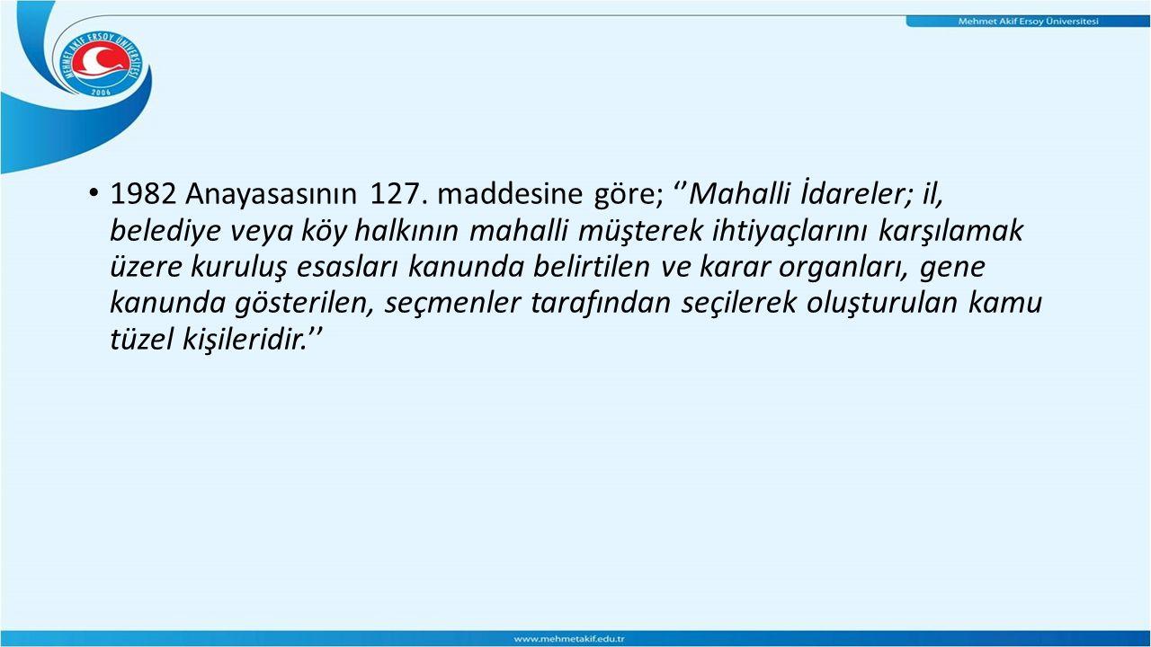 1982 Anayasasının 127.
