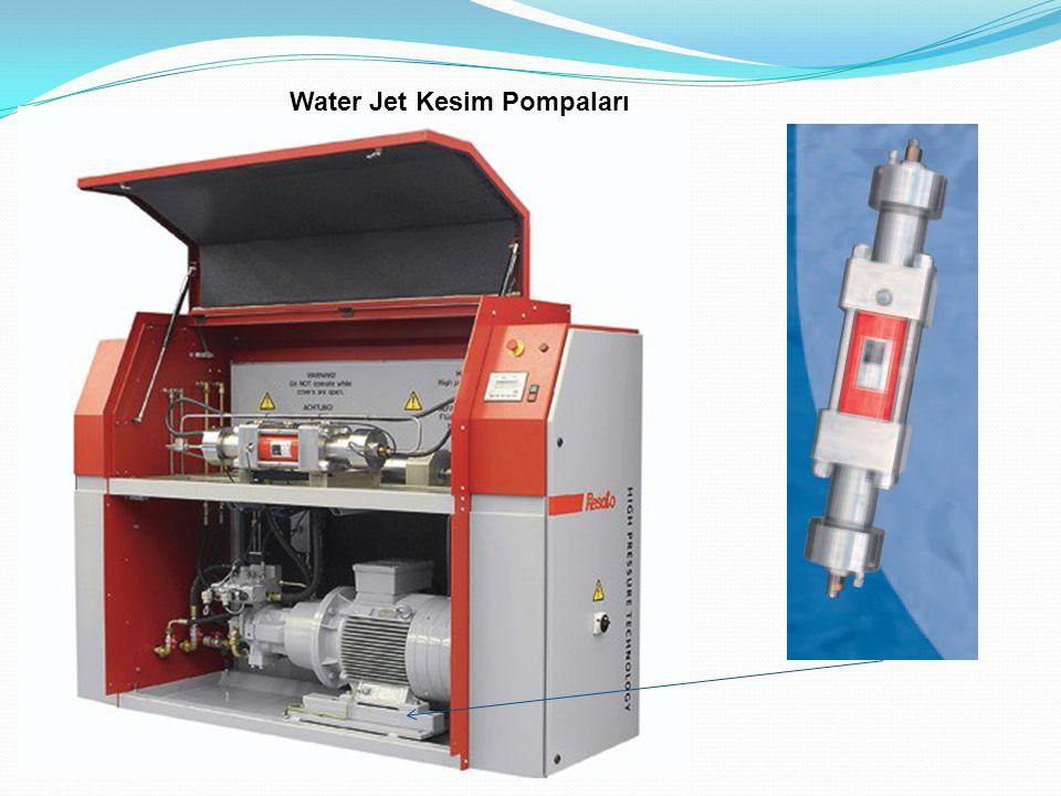 Water Jet Kesim Pompaları