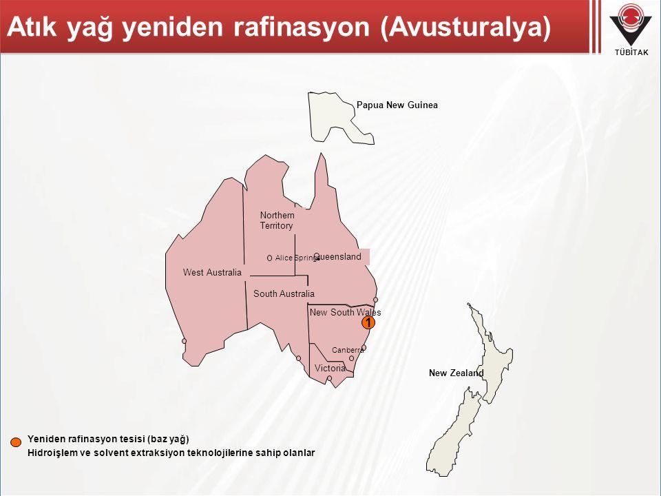 Atık yağ yeniden rafinasyon (Avusturalya)