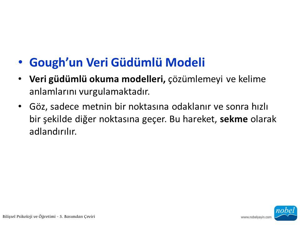 Gough'un Veri Güdümlü Modeli
