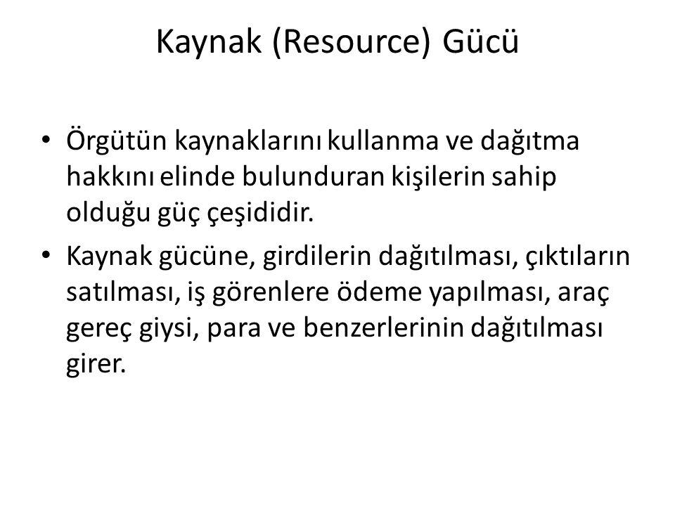 Kaynak (Resource) Gücü