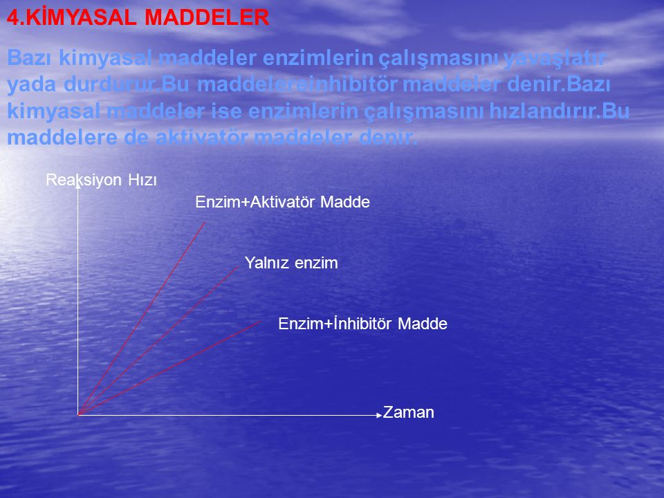 4.KİMYASAL MADDELER