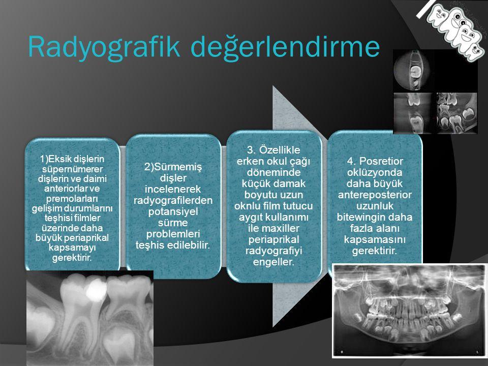 Radyografik değerlendirme