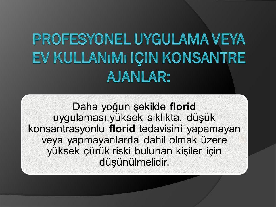 Profesyonel uygulama veya ev kullanımı için konsantre ajanlar: