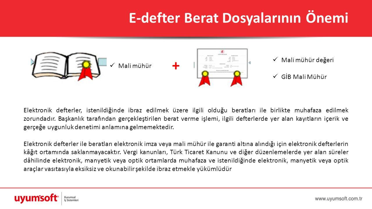 E-defter Berat Dosyalarının Önemi