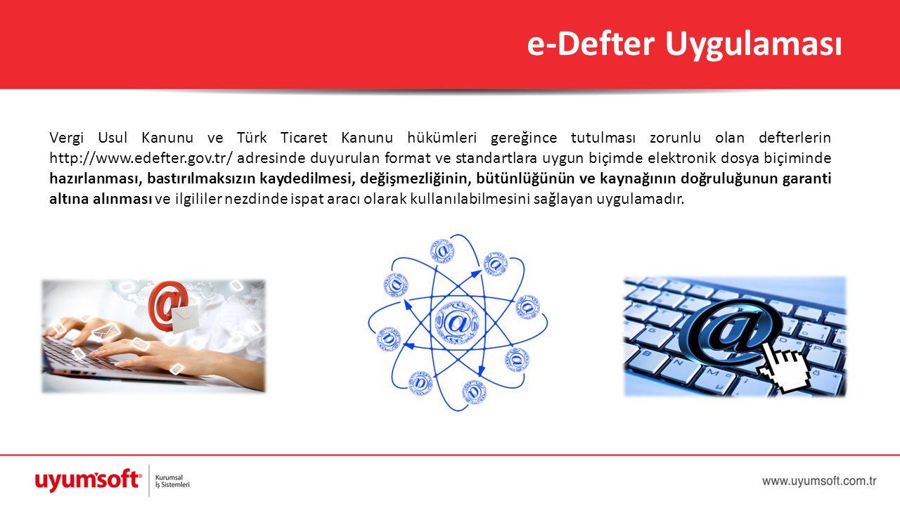 e-Defter Uygulaması