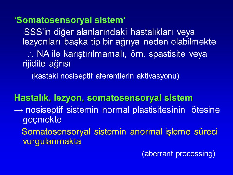 'Somatosensoryal sistem'