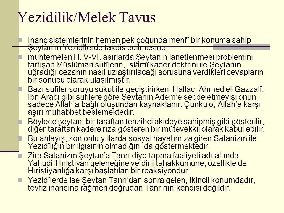 Yezidilik/Melek Tavus