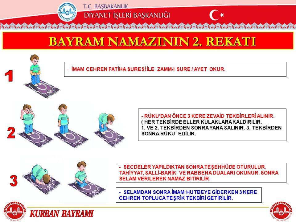 BAYRAM NAMAZININ 2. REKATI