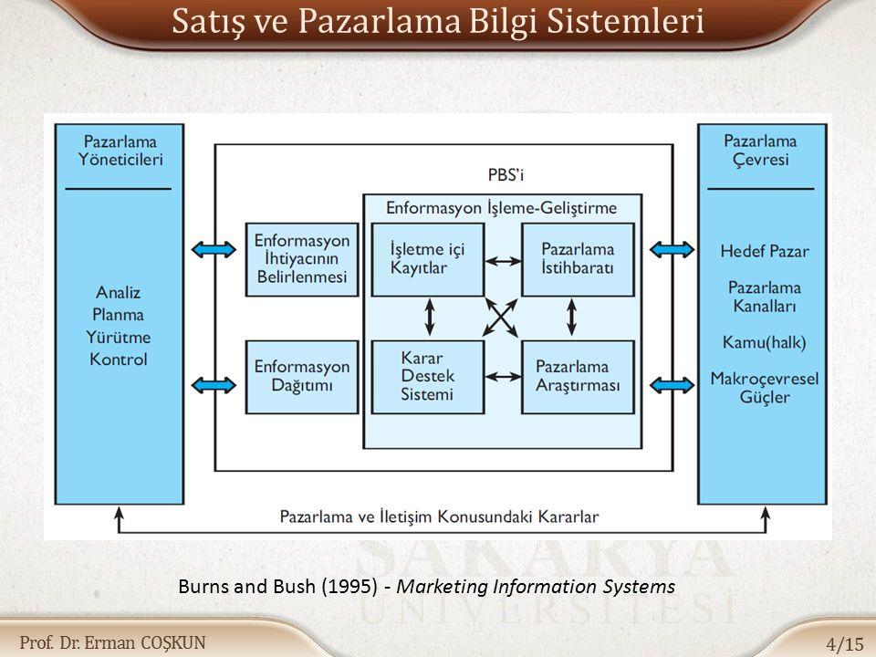 Satış ve Pazarlama Bilgi Sistemleri