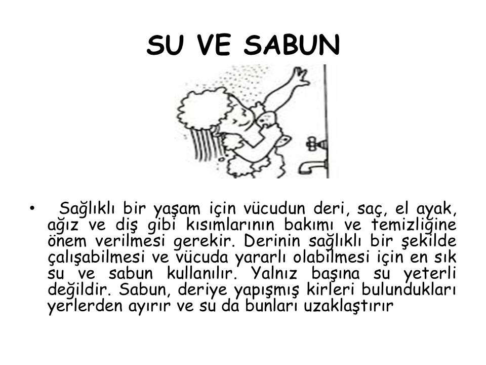 SU VE SABUN