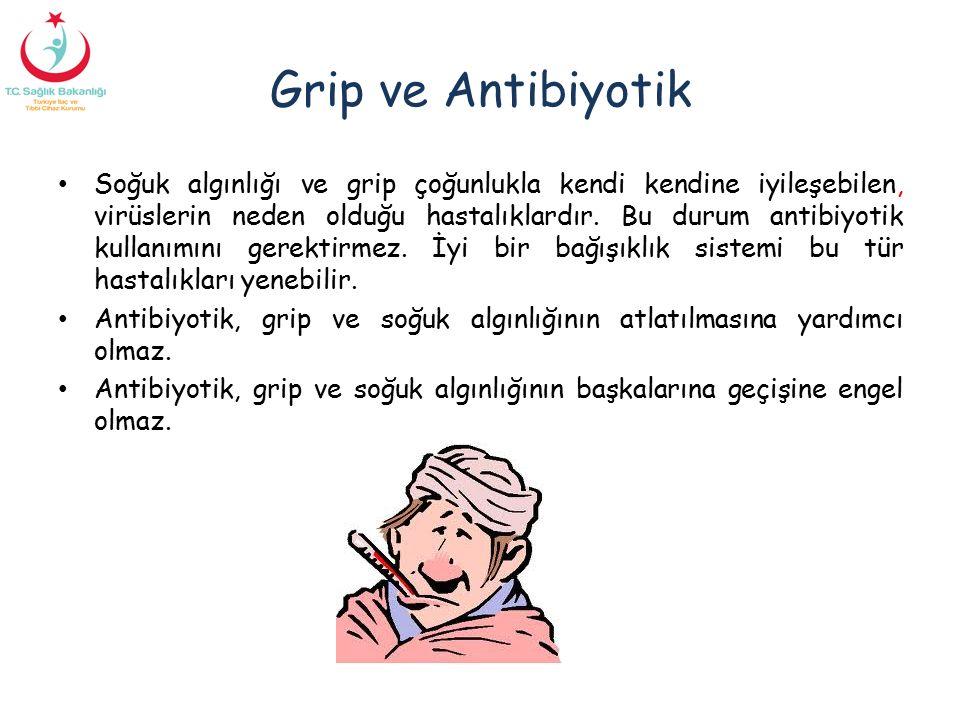 Grip ve Antibiyotik