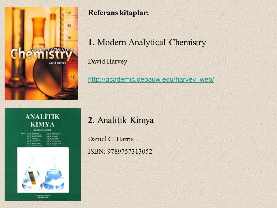1. Modern Analytical Chemistry