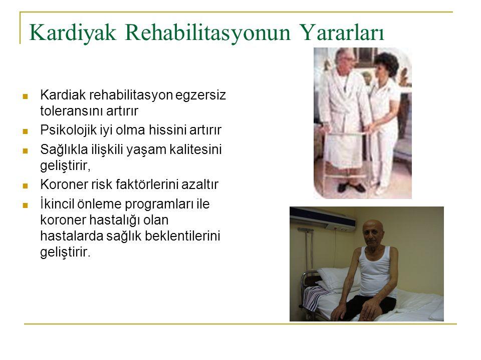 Kardiyak Rehabilitasyonun Yararları