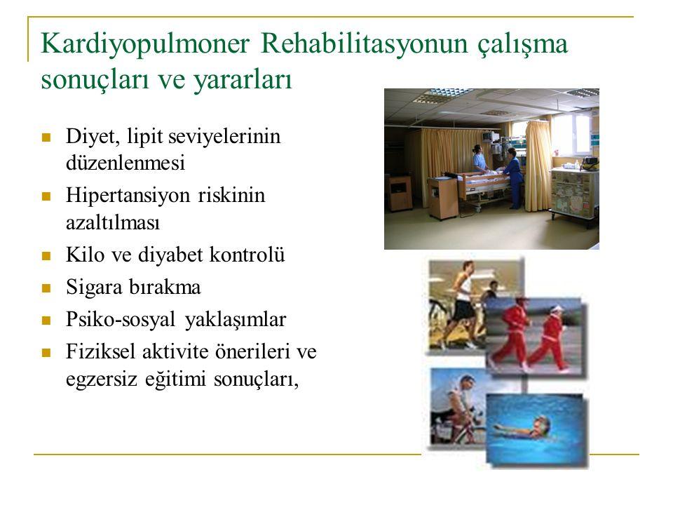 Kardiyopulmoner Rehabilitasyonun çalışma sonuçları ve yararları