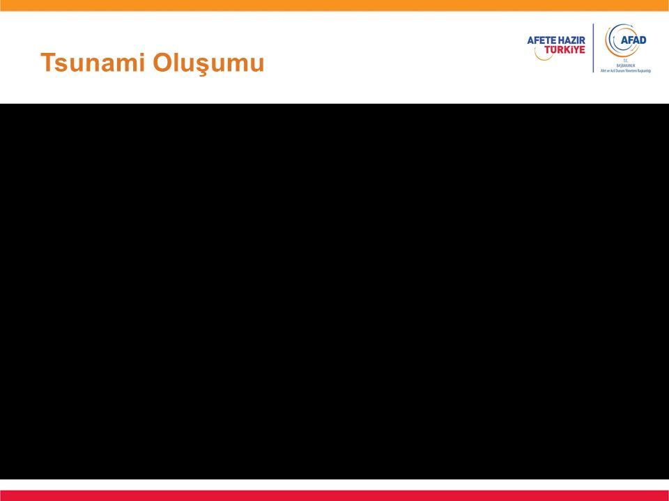 Tsunami Oluşumu Animasyon Süresi: 15 sn.
