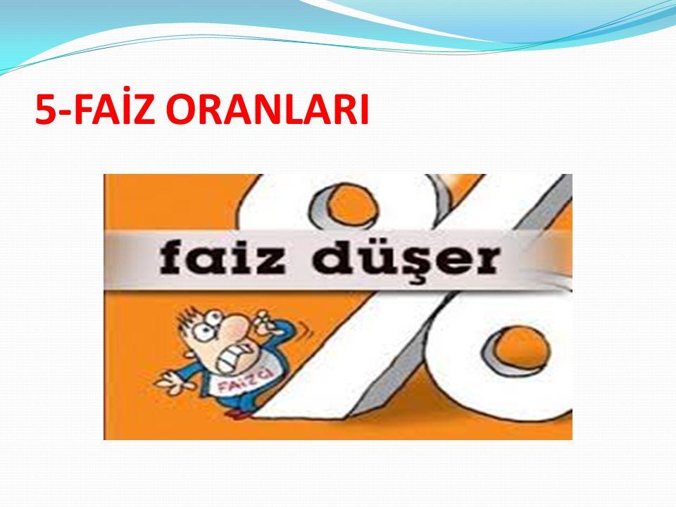 5-FAİZ ORANLARI