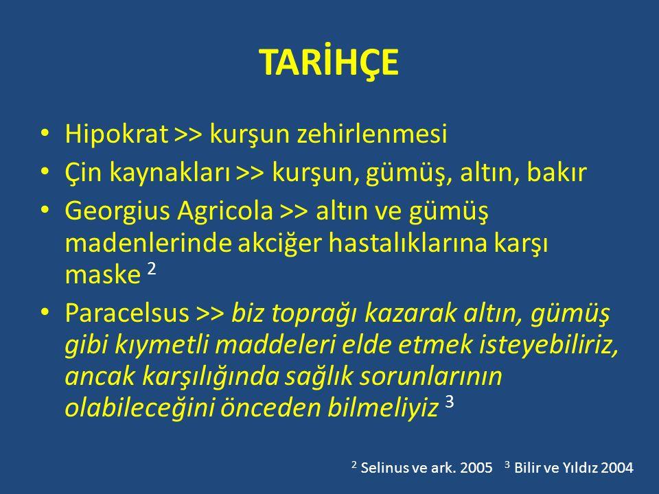 TARİHÇE Hipokrat >> kurşun zehirlenmesi