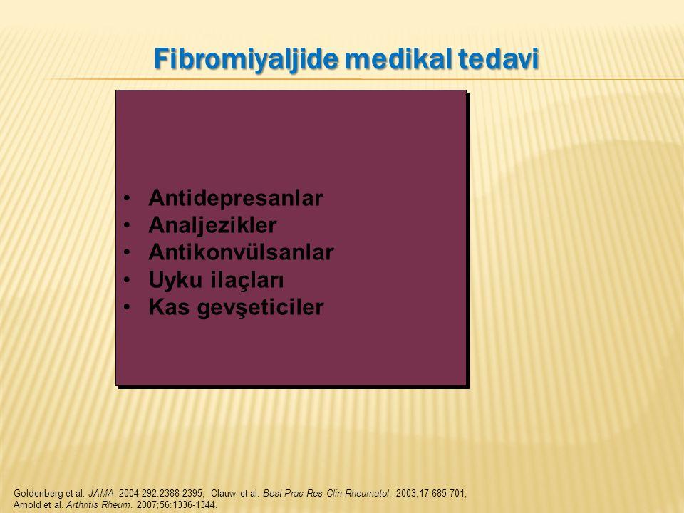 Fibromiyaljide medikal tedavi